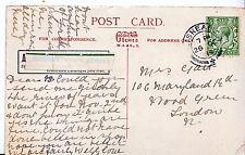 Genealogy Postcard - Family History - Gait - Wood Green - London    U3101