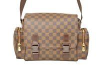 Louis Vuitton Damier Ebene Reporter Melville Shoulder Bag N51126 - YF02117