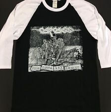 CARCASS 3/4 Sleeve Length Baseball T shirt IMMOLATION BOLT THROWER Grindcore