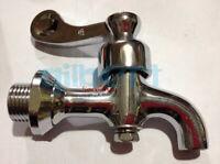 """1/2"""" BSP Male Chrome Brass Water Boiler Faucet Spigot Valve Tap"""