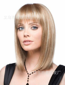 ZWW-JF46  beautiful short blonde mix hair wigs for women wig