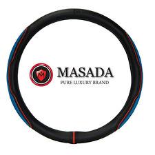 Gauss Premium Lux M Car Steering Wheel Cover - 37cm Blue New Gift Man Drivers