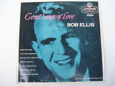 BOB ELLIS - Great Songs of Love - RARE Oz Press LP 10""