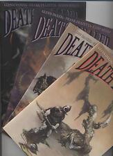 Death Dealer (tedesco) # 1+2+3+4 Variant completamente-Bisley/Frazetta-Eee Top