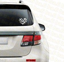 ZEBRA PRINT HEART Vinyl Sticker Decal for Car & Truck Windows Laptop Girly JDM