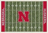 Nebraska Cornhuskers Milliken NCAA Home Field Area Rug