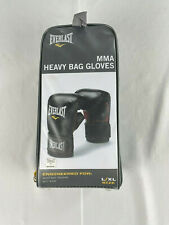New Everlast Mma Mixed Martial Arts Heavy Bag Gloves Large/X-Large Black & Red