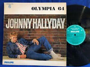 JOHNNY HALLYDAY OLYMPIA 64 77987 LABEL VERT ORIGINAL FRANCE LP NEAR MINT
