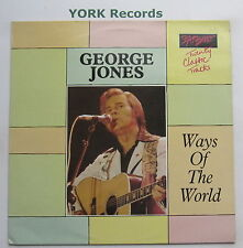 GEORGE JONES - Ways Of The World - Excellent Condition LP Record Meteor SMT 008