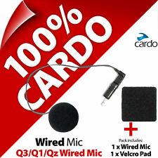 Cardo Scala Rider Wired (Corded) Microphone Mic for Q3 Q1 QZ Motorcycle Helmet