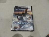DIVERGENT/INSURGENT DOUBLE FEATURE DVD SET NEW