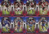 2020-21 Panini Prizm English Premier League Red White Blue Refractor 20 Cards