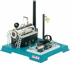 D18 -macchina a vapore stazionaria con Dinamo e Lampione Wilesco