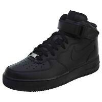 Nike Men's Air Force 1 Mid Shoes Black/Black 315123-001