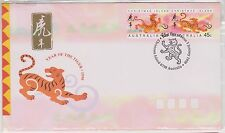 (ICD195) 1998 Christmas Island 45c pair year of the tiger (D)