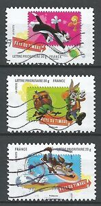 ˳˳ ҉ ˳˳FR20 France Cartoon Looney Tunes Warner Bros 2009 complete set 3 used