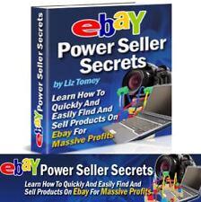 eBay 🔥 Power Seller Secrets for Massive Profits PDF eBook Free 8 eBooks success