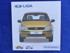 Lada 1118 1119 - Die Kompakten - Prospekt Brochure 09.2007