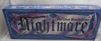 Nightmare VHS Video VCR Board Game Chieftain 1991 100% Complete