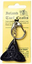 "Irish Trinity Celtic Keyring 2"" (MJ03) - Island Turf Crafts"