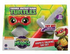 Teenage Mutant Ninja Turtles Raph Half-Shell Heroes Talking Soft Ninja Role Play