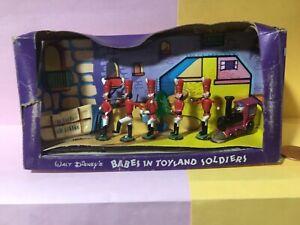 Marx Disneykins Babes Toyland play set plastic Disney character soldier figures