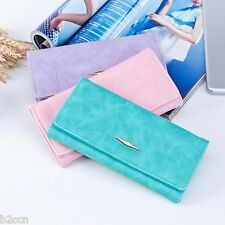 Fashion Ladies Wallet Bifold Hasp Coin Purse Long Wallets Card Holder Handbag