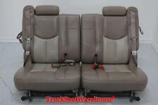Chevy Truck Escalade Two-Tone Tan Third Row Seats 3rd Tahoe