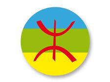 Magnet Aimant Frigo Ø38mm Drapeau Flag  Berbere Afrique du Nord