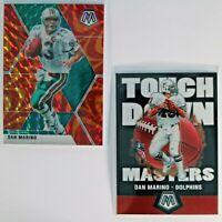 Dan Marino Hall of Fame QB Lot (3) - Prizm, Touchdown Masters