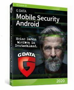 G Data Mobile Internet Security 2021 für 1 ANDROID 1 Jahr Gdata