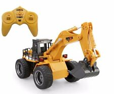 2.4Ghz 6 Channel Radio Control 4 Wheel Excavator High Simulation Truck R/C RTR