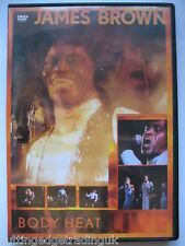 James Brown - Body Heat Live (DVD, 1979) NEW SEALED PAL