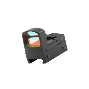 Mini Red Dot  RMS Reflex Micro Sight With Vented Mount and Spacers