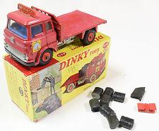 DINKY #425 BEDFORD TK COAL LORRY W/ COAL BAGS & ACC. VG+ W/ VG BOX. REEDED EDGE!