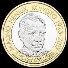 Finnland 5 Euro 2018  Finnische Präsidenten Mauno Koivisto   bfr