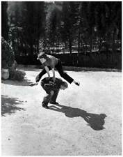 Marc Chagall at Play by Philippe Halsman