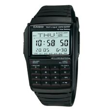 Casio DBC-32-1A Black Unisex Digital Data Bank Calculator Watch with Gift Box