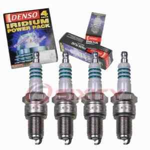 4 pc Denso Iridium Power Spark Plugs for 1988-1993 Ford Festiva 1.3L L4 nz