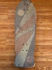 Vintage santa cruz rob roskopp skateboard deck USA