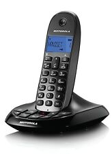 MOTOROLA C1211A SINGLE CORDLESS TELEPHONE WITH ANSWERING MACHINE