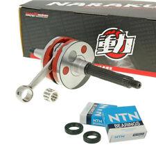 Tuning Kurbelwelle NARAKU RACING HPC + Lager Piaggio NRG 50 MC2 MC3 Power AC LC