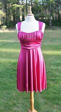 Speechless Raspberry Short Formal Prom Dress Size Medium (M) Ruching NWT