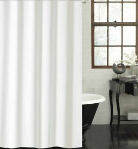 White shower curtain 180cm new free shipping