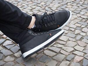 HUB Footwear INDUSTRY 2.0 L black Echtleder Schnürschuhe reduziert NEU SALE
