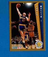 1992//93 Fleer baloncesto Walker #77 Chris Mullin