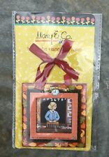 "Teacher Courage Mary Englebreit Magnetic Paper Hanging Frame 3.5"" x 3.5"""