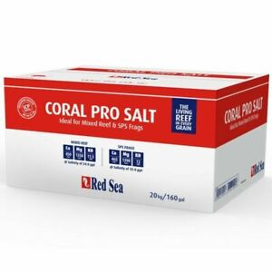 Red Sea Coral Pro 20 kg Meersalz Karton für nur Kurze Zeit 65,90 €