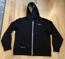 Nike Therma Fit womans full zip black hoodie size M