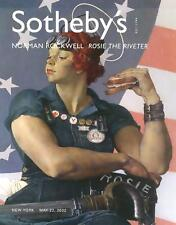 Sotheby's /// Norman Rockwell Rosie The Riveter Post Auction Catalog 2002